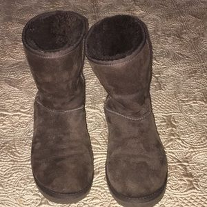Uggs Boots Brown Size 8 Excellent Condition